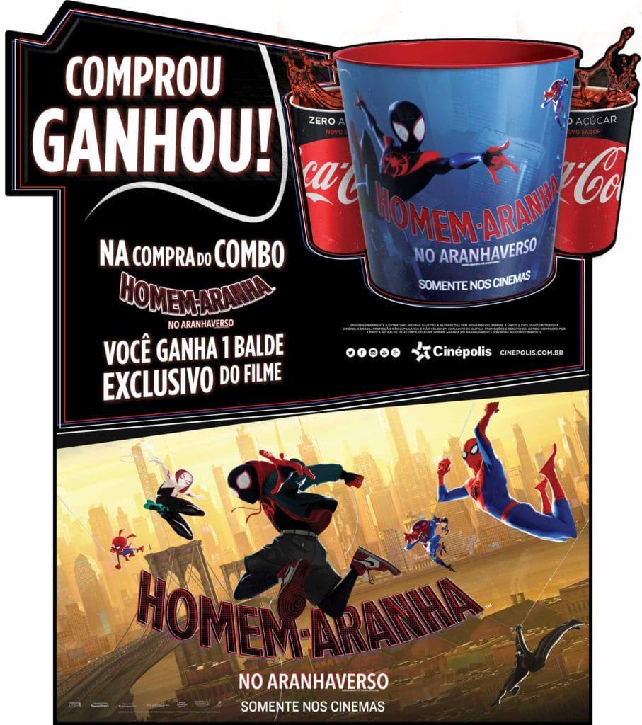 Cinépolis Anuncia Combo Exclusivo De Homem Aranha No