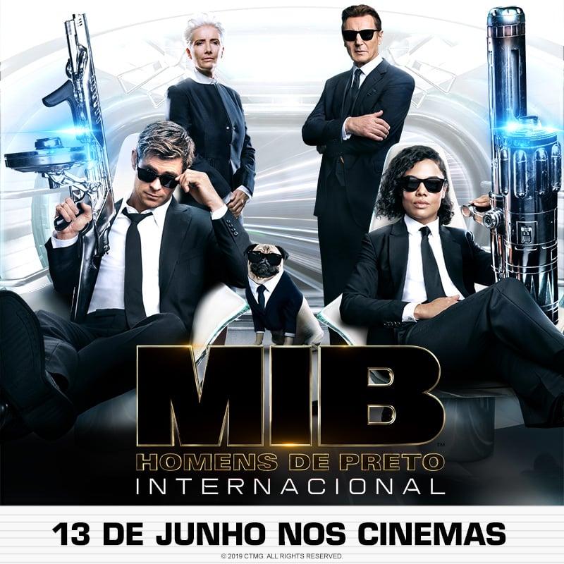 Mib Homens De Preto Internacional Men In Black
